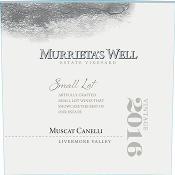 2016 Murrieta's Well Muscat Canelli