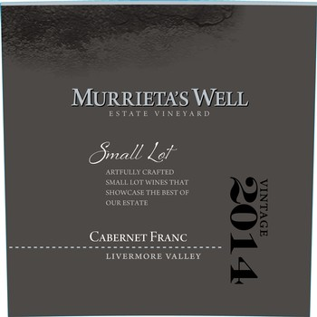 2014 Murrieta's Well Cabernet Franc Image