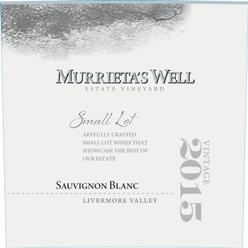 2015 Murrieta's Well Sauvignon Blanc