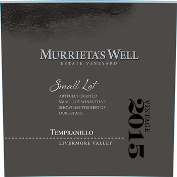 2015 Murrieta's Well Tempranillo Image